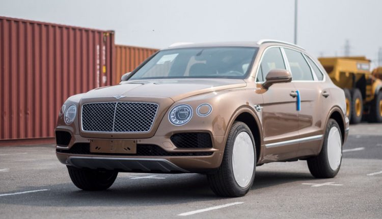 Bentley Bentayga Onyx Edition