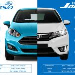 so sánh xe, ford fiesta vs honda jazz, offb group