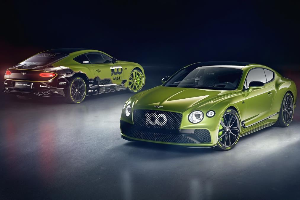 Bentley ra mắt Continental GT Limited Edition kỷ niệm chiến thắng Pikes Peak 2019 2, OFFB