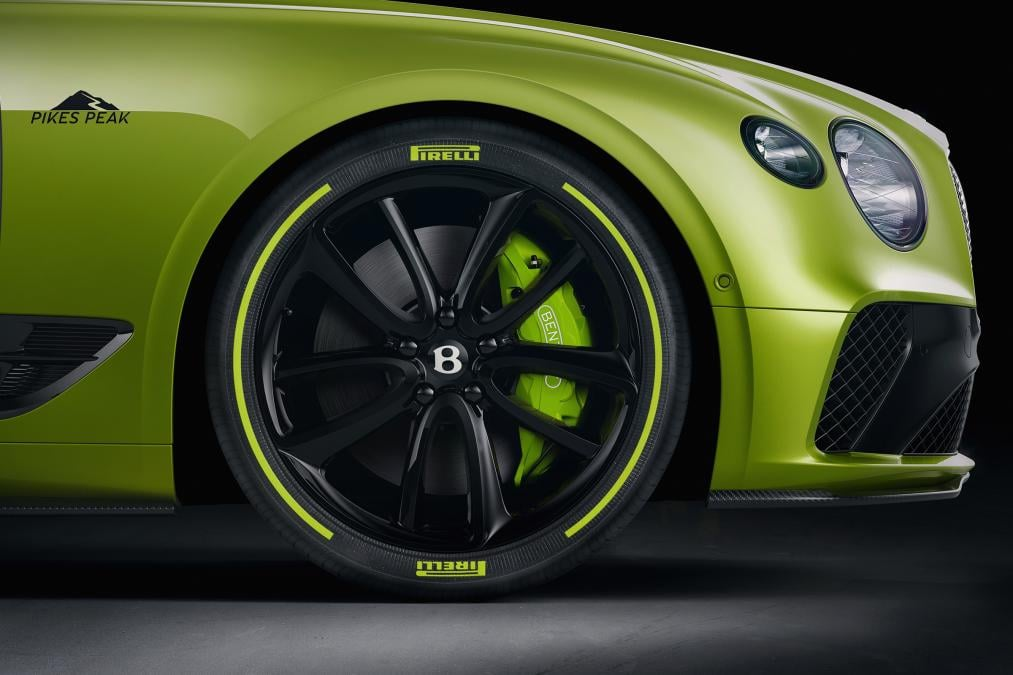 Bentley ra mắt Continental GT Limited Edition kỷ niệm chiến thắng Pikes Peak 2019 5, OFFB